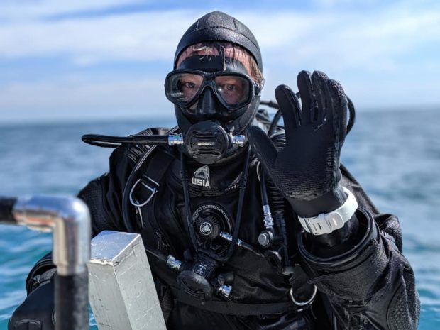 Andy Tidy Scuba Diver